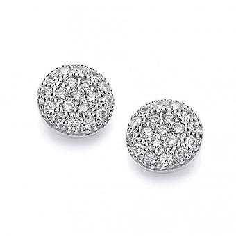 Cavendish Franse Mini CZ ingelegde Stud Earrings Stud Earrings