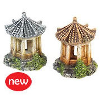 Classic For Pets Asian Temple 90mm    4pcs (Fish , Decoration , Ornaments)