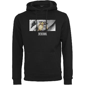 Mister t-shirt felpa con cappuccio - nero BLING BOOM