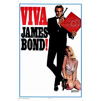 Viva James Bond Movie Poster Print (27 x 40)