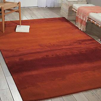 Rugs -Calvin Klein Luster Wash - Rust SW01