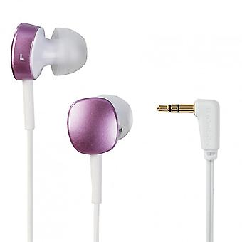THOMSON EAR3056 Headphones In-Ear White/Purple
