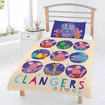 Clangers Circles Junior Duvet Cover Set Polycotton