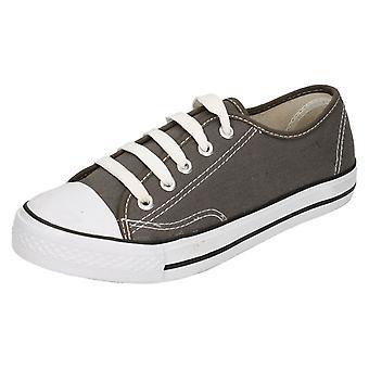 Lugar de mens de encaje zapatos de lona