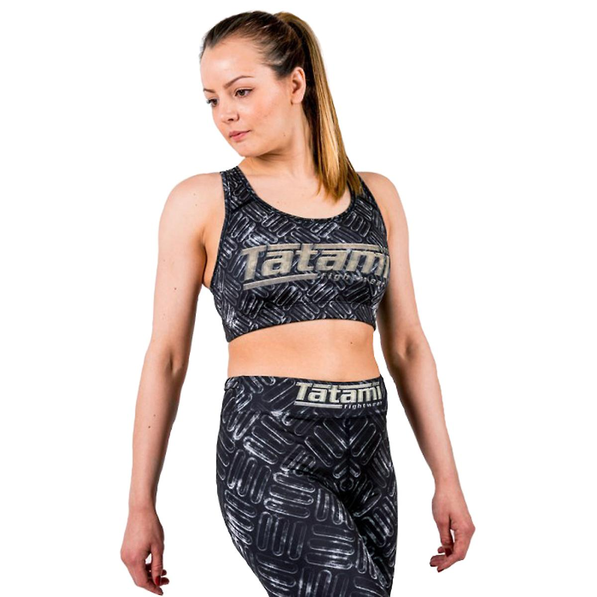 Tatami Fightwear Metal Sports Bra - Black/Gray