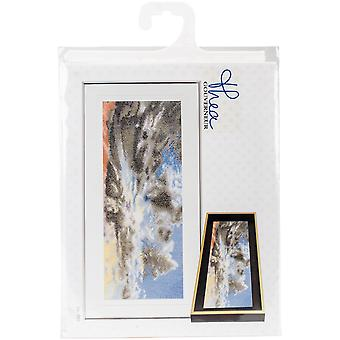 Sky Study IX On Aida Counted Cross Stitch Kit-5.75