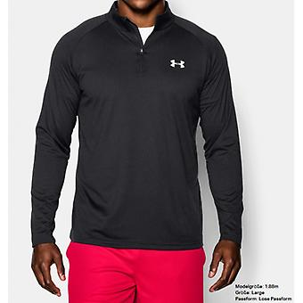 Under Armour men Longsleeve with ¼-zip 1242220-003 black