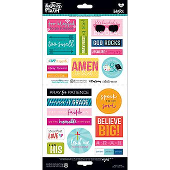 Illustrated Faith Basics Elements Stickers-Go & Tell 2 IBES-1496