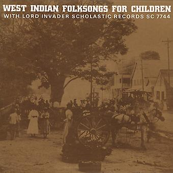 Lord Invader - West Indian Folksongs for Children [CD] USA import