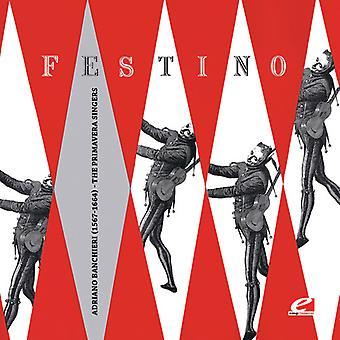 Primavera Singers - Primavera Singers / Banchieri: Festino Nella Sera [CD] USA import