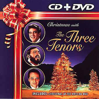 Tre tenorer - jul med de tre tenorer [CD + Dvd] [CD] USA import