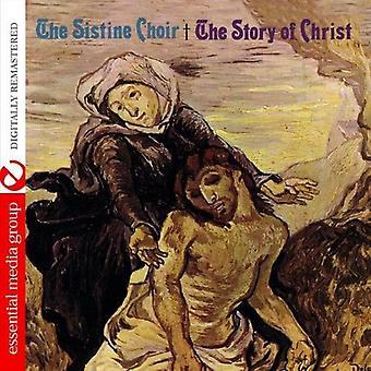 Sixtinska kören - berättelsen om Kristus [CD] USA import