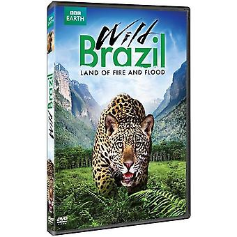Wild Brazil: Land of Fire & Flood [DVD] USA import