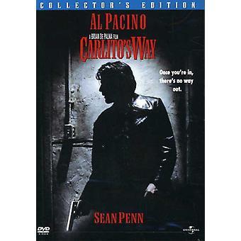 Carlitos Way [DVD] USA import