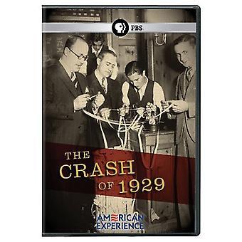 Crash of 1929 [DVD] USA import