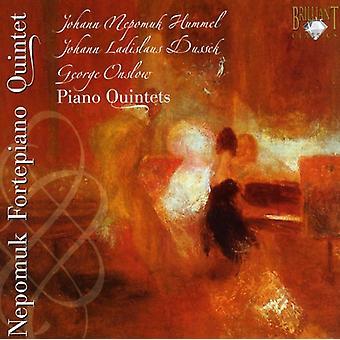 J.N. Hummel - Hummel, Dussek, Onslow: Quintetti per pianoforte [CD] USA importazione