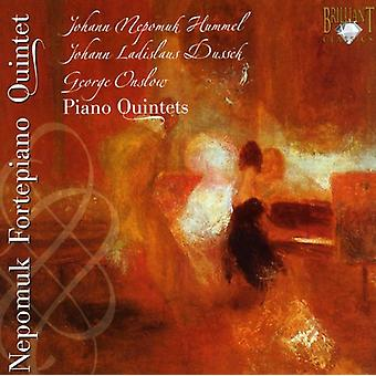 J.N. Hummel - Hummel, Dussek, Onslow: Piano Quintets [CD] USA import