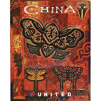 United China Poster Print Giclee