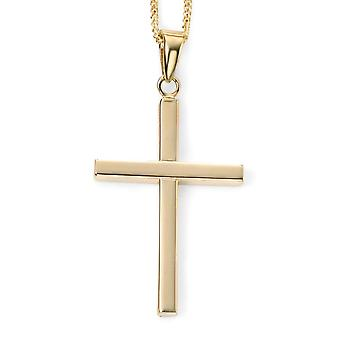 9 ct Gold Cross Necklace