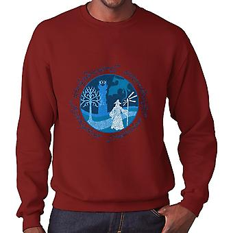 Lord Of The Rings Gandalf A Wise Man's Journey Men's Sweatshirt