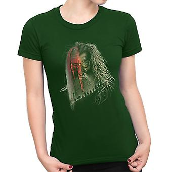 Lord of the Rings Hobbit Gandalf Evil Border Women's T-Shirt