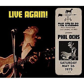 Phil Ochs - Live Again [CD] USA import
