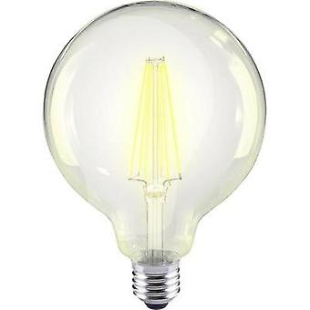 LED E27 Globe 12 W = 98 W Warm white (Ø x L) 95 mm x 135 mm EEC: A++ Sygonix Filament 1 pc(s)