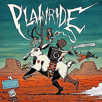 Plainride - afkast af Jackalope [CD] USA importen