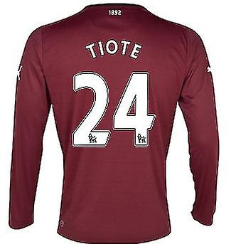 2012-13 Newcastle Long Sleeve Away Shirt (Tiote 24)