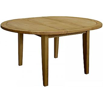 Classic Loire Oak Medium Sized Round Extending Table