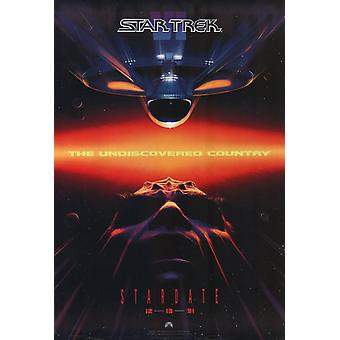 Star Trek 6 el país desconocido Movie Poster (11 x 17)