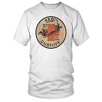 US Army 159. Staub von Grunge Effekt Herren-T-Shirt
