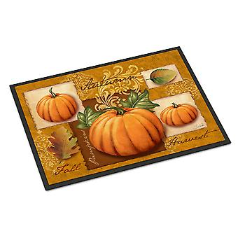 Fall Harvest Pumpkins Indoor or Outdoor Mat 18x27