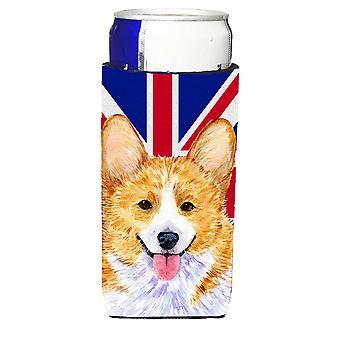 Corgi z angielski Union Jack brytyjski flaga Ultra napojów Izolatory dla slim ca
