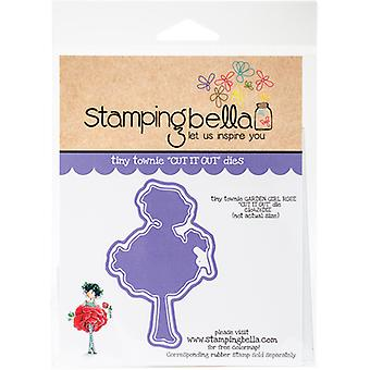 Stamping Bella Tiny Townie Cut It Out Dies-Garden Girl Rose CIO426
