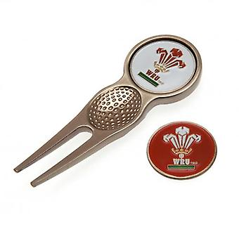 Wales R.U. Divot Tool & Marker