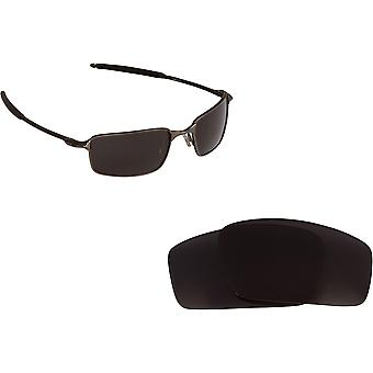 Best SEEK Polarized Replacement Lenses Oakley SQUARE WIRE 2 (2014) Black