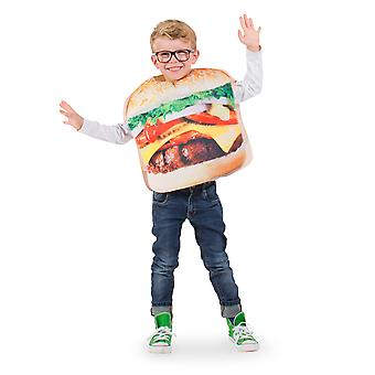 Hamburger kids costume
