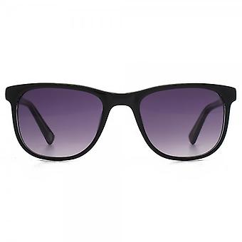 Hook LDN Rhapsody Sunglasses In Black On Clear