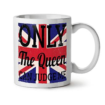 Queen Love Judge Flag UK NEW White Tea Coffee Ceramic Mug 11 oz | Wellcoda