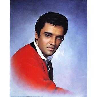 Elvis Presley Red Sweater Poster Print (16 x 20)