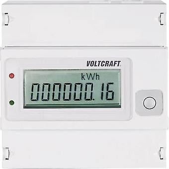 VOLTCRAFT VSM-102 Electricity meter (3-phase) Digital 80 A MID-approved: No