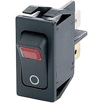 Toggle switch 250 V AC 16 A 2 x Off/On Marquardt 1