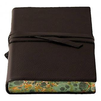 Coles Pen Company Chianti Large Marbled Journal - Black