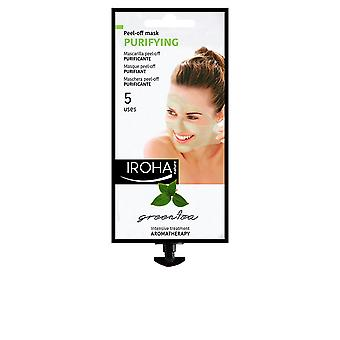 Iroha Peel Off Mask Purifying Green Tea 5 Uses New Womens Sealed Boxed