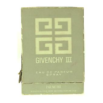 Givenchy lll Eau De Parfum Spray 2.0Oz (Damage Box 80% Full)