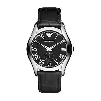 Emporio Armani Watch AR1708 Black Silver