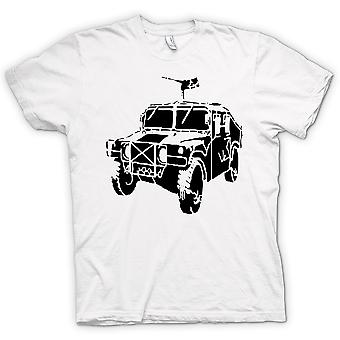 Womens T-shirt - US Army Humvee 50 Cal - Military