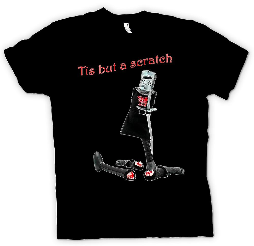 Womens T-shirt - Monty Python - Tis But A Scratch