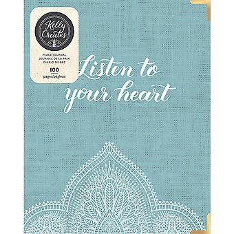 Kelly Creates A5 D-Ring Journal-Peace 343571